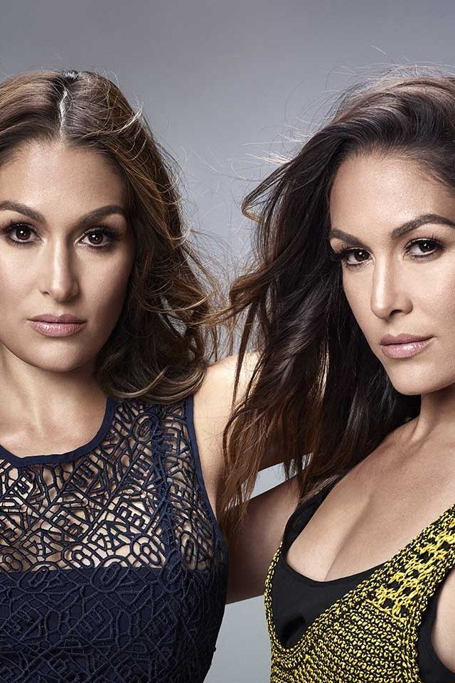 The Bella Twins take the cover of Latina Magazine August 2016.