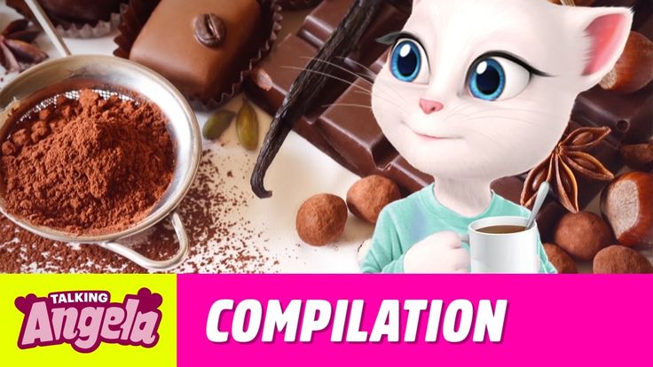 Talking Angela - My Favorite Recipes Compilation xo, Talking Angela #TalkingAngela #MyTalkingAngela #TalkingFriends #LittleKitties #TalkingGinger #TalkingHank #TalkingTom #TalkingBen #LittleKitties #MyTalkingAngela #story #Halloween #fun #spooky