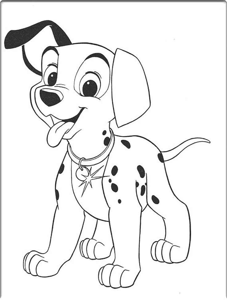 101 dalmatians very sweet coloring pages for kids printable 101 dalmatians coloring pages for kids