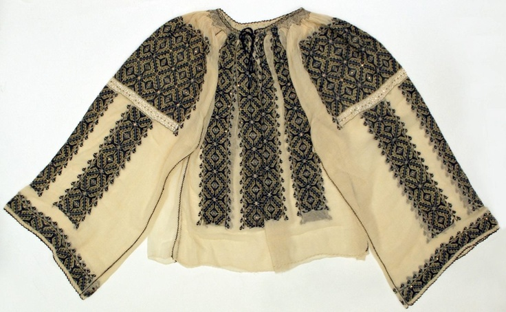 #RomanianBlouse @Metropolitan Museum of Art, New York  Date: 20th century   Credit line: Bequest of Clarissa Gwendoline Condon, 1968 #Romania