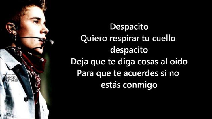 Luis fonsi - Despacito ft. Justin Bieber, Daddy Yankee [Lyrics Video]