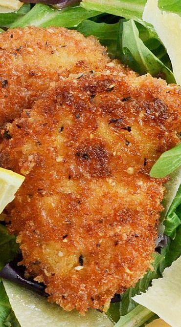 Lemon Parmesan Chicken ~ It is incredible!