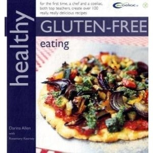 Healthy Gluten Free Eating - Darina Allen and Rosemary Kearney. Best all rounder - some great ideas such as using rice paper circles for spring rolls and in place of filo. Great pizza dough and savoury pastry recipes.