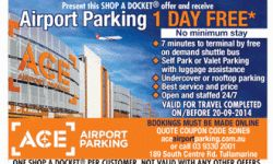 melbourne Airport Parking – 1 Day Free from Ace Airport Parking!