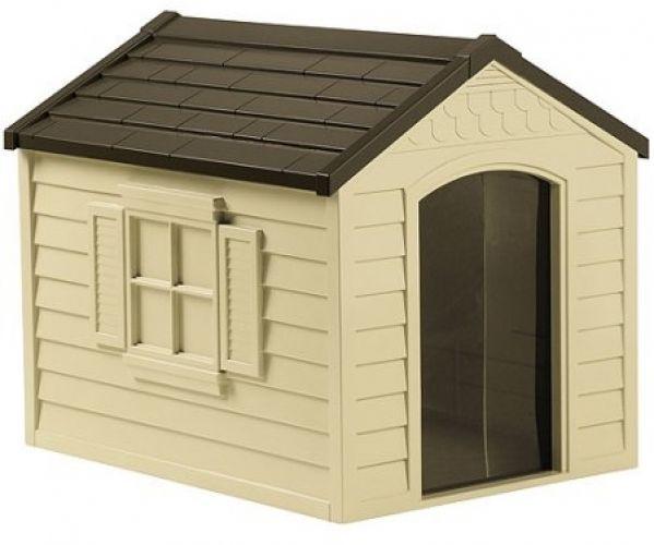 Deluxe Dog House DH250 Outdoor Patio Garden Cage House  #ASPCA