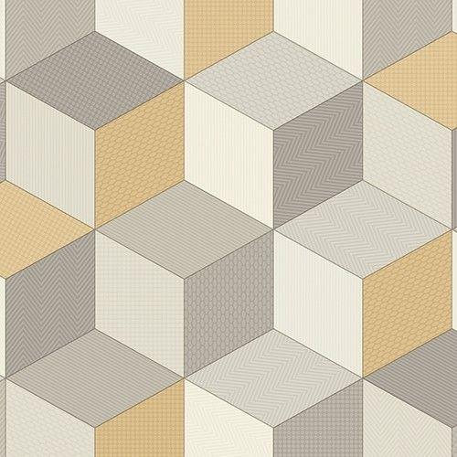 Cubes 054 Presto Pattern Vinyl Flooring