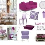 HOME DECOR CHALLENGE: RADIANT ORCHID