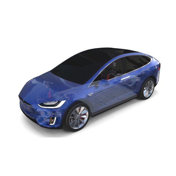 3d 2012 Tesla Roadster Sport: Pin On Car 3D Models
