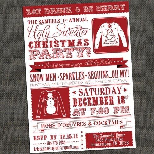 31 best images about UGLY Sweater Party – Ugly Sweater Christmas Party Invitations Wording