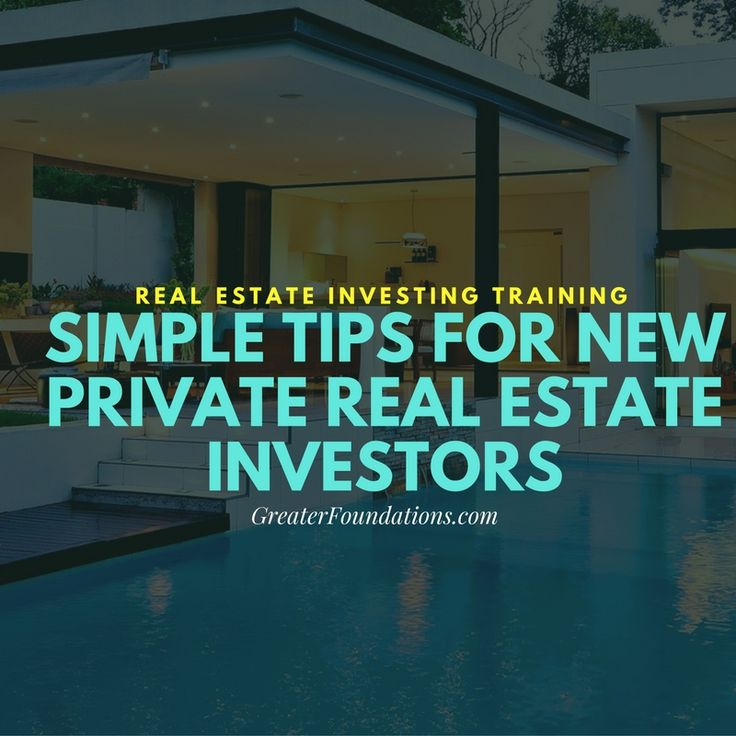 If you're thinking about starting a career as a private real estate investor, here are some simple tips to help you launch your enterprise efficiently!