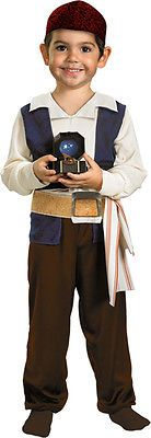 Morris Costumes Boys Toddlers Jack Sparrow Pirate Dress Costume 2T. DG29828S