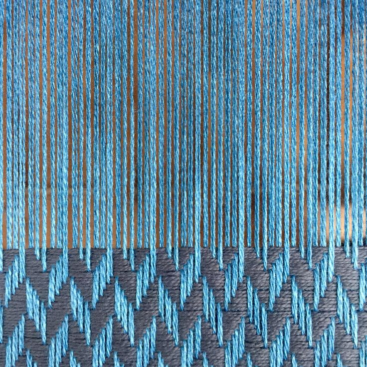 Last one from this warp. Chunky herringbone in blue bamboo & grey organic cotton. #sustainablefashion #sustainable #sustainableliving #sustainabletextiles #sustainabledesign #eco #ecofriendly #ecotextiles #plantbased #vegan #crueltyfree #organic #weaver #woven #woventextiles #textile #textiledesign #textiledesigner #luxury #luxuryyarn #luxurylife #luxurylifestyle #madeinhampshire #madewithlove #footpowered #organiccotton #organiccottonyarn #bamboo #bambooyarn