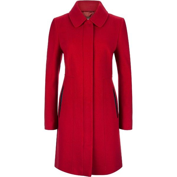 25  beste ideeën over Red wool coat op Pinterest - Rode jassen