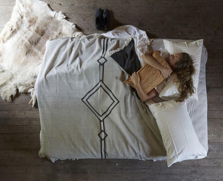 Pony Rider — Misty Creek Bed blanket - Cotton Blankets