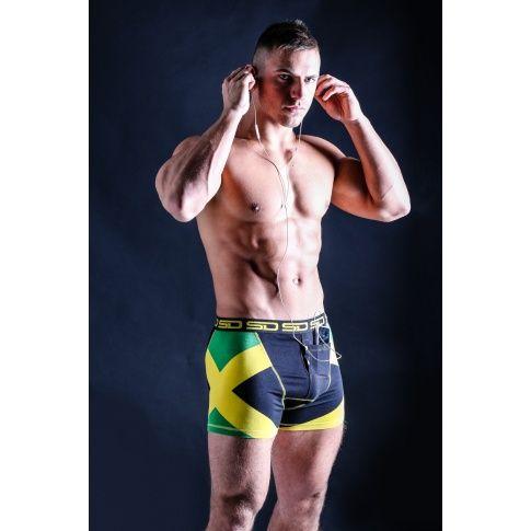 hratsky.com - męska bielizna - Bokserki - BOKSERKI SMUGGLING DUDS JAMAICAN