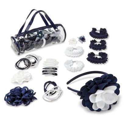 French Toast� Girls' School Uniform Hair Accessory Set - Super cute, though not absolutely necessary - Rank #5