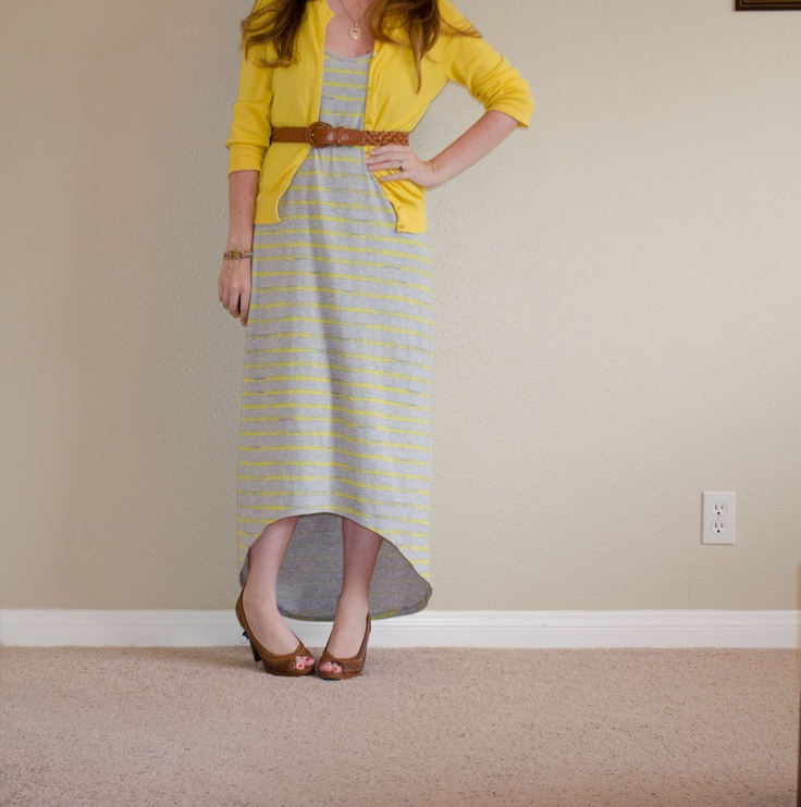 dress from Kmart, cardigan from J.Crew, shoes from Payless www.daily