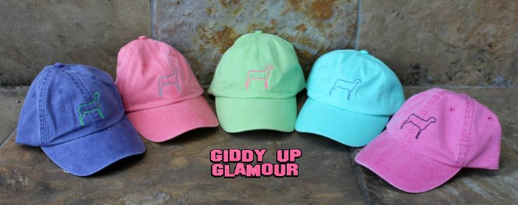 These hats are perfect for the early mornings in the show barn! Printed on the popular Adams hat brand. Hats are adjustable in the back!