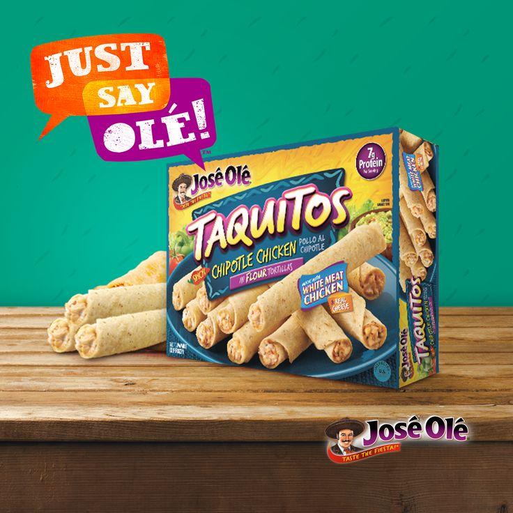 Your favorite taquitos #JustSayOlé!
