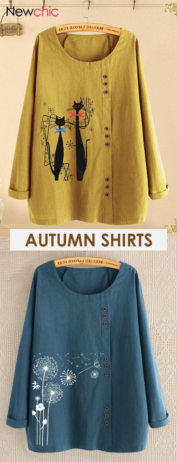 women autumn shirts.