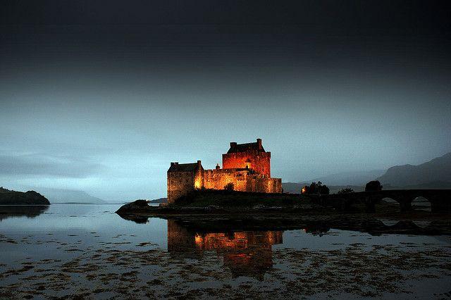 Eilean Donan Castle, Dornie, Ross-Shire, Scotland