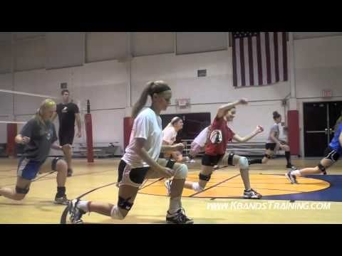 Split Squat Jump Drill: This drill is great for developing the hips to improve jump height with the extended lunge start position. This drill is also great for working on knee and hip stability with the catch portion of the drill, and the 3 second static hold at the bottom.