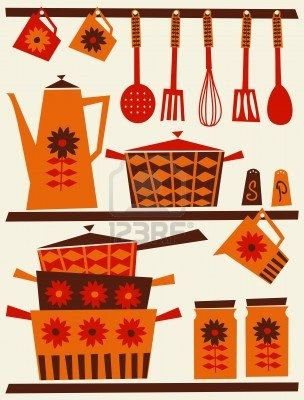 Vintage Kitchen Utensils Illustration 213 best kitchen hand tools images on pinterest | kitchen, kitchen