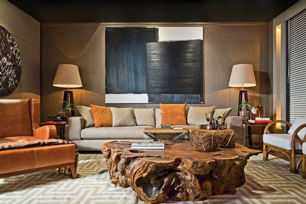 decoracao interiores curitiba:1000 ideias sobre Mesa De Tronco De Árvore no Pinterest