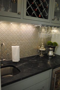 arabesque tile backsplash tile