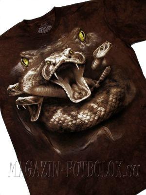 mountain футболки с 3д эффектом - snake moon eyes