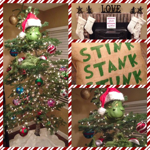 Grinch Stole Christmas Tree 🎄 Grinch Christmas Pinterest