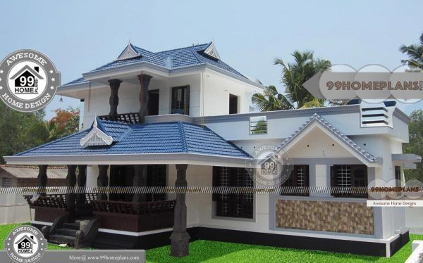 Traditional Home Floor Plan With 2 Floor Simple Low Cost Awesome Plans Courtyard House Plans House Floor Plans Traditional House