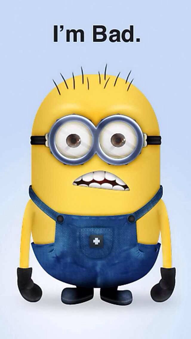 Credit Cards For Bad Credit >> I'm bad minion | Minions, Minion characters, Cute minions