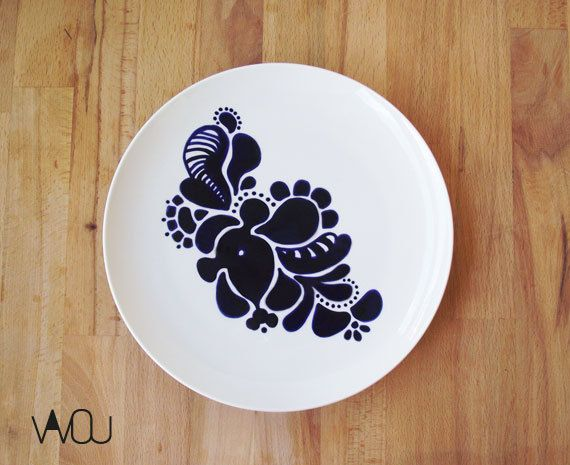 Plate 2 by VAVOUhandythings on Etsy