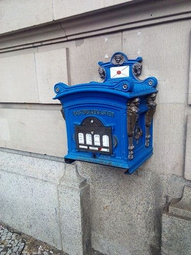 postbox in Potsdam