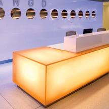 Zango Reception desk