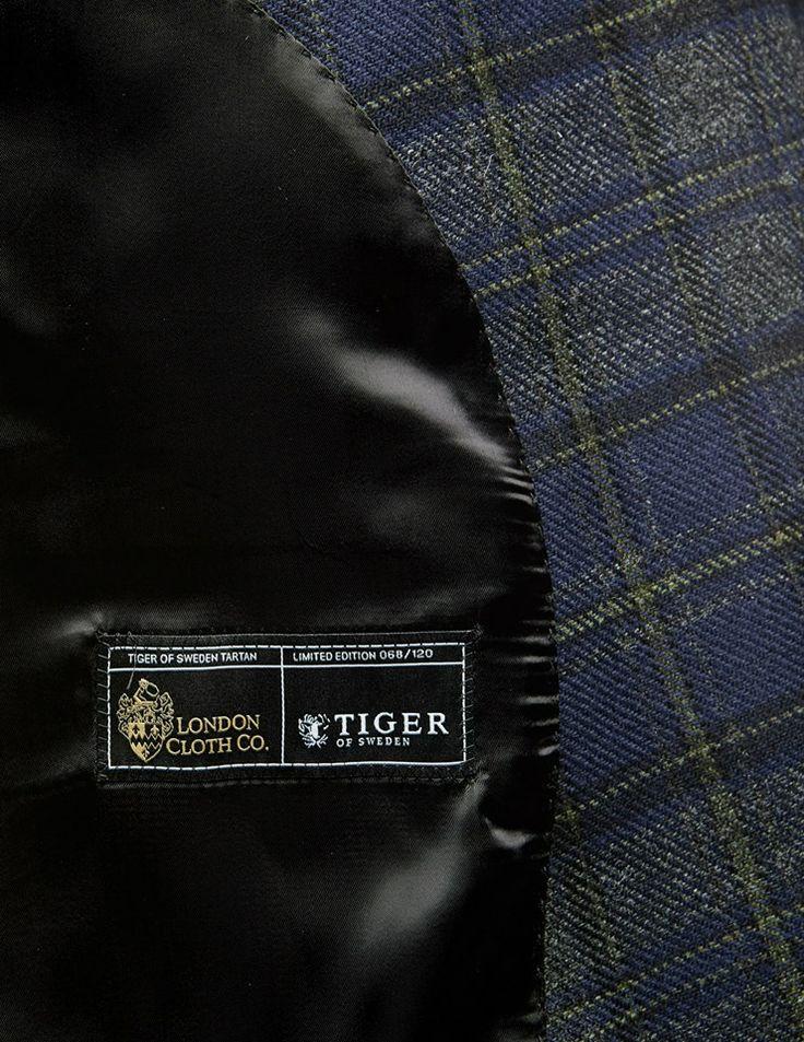 Tiger of Sweden. We have created one hundred jackets.