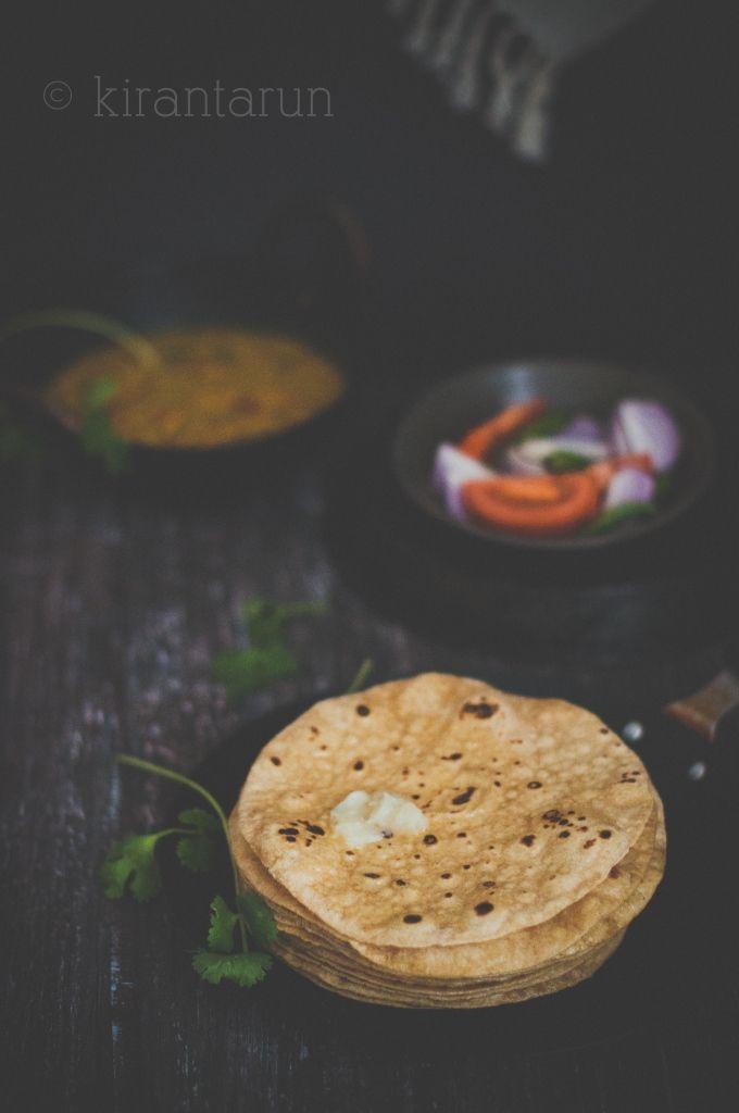 Homemade Chapati | KiranTarun.com