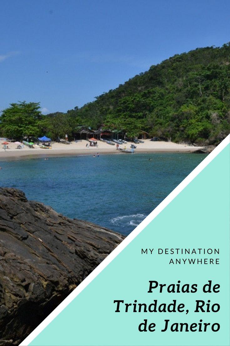 Praias de Trindade em Paraty: Praia de Fora e Praia do Meio
