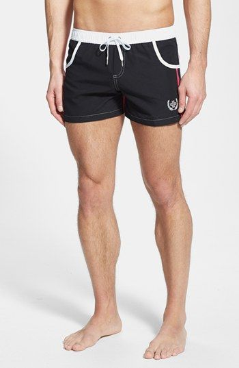 Andrew Christian 'Navigator' Swim Trunks (Online Only) available at #Nordstrom