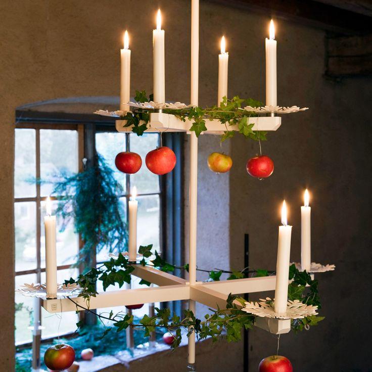 Wooden chandelier designed by Ernst Kirchsteiger - at RoyalDesign.se