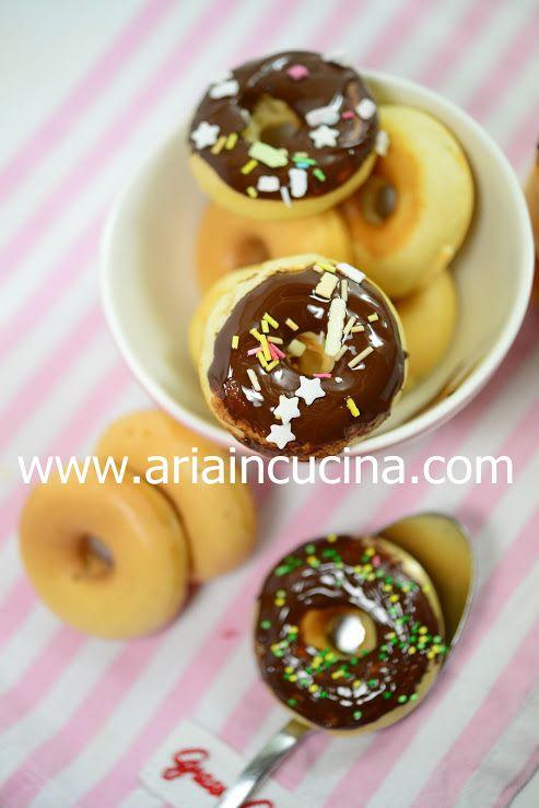 Blog di cucina di Aria: Donut con sciroppo d'acero