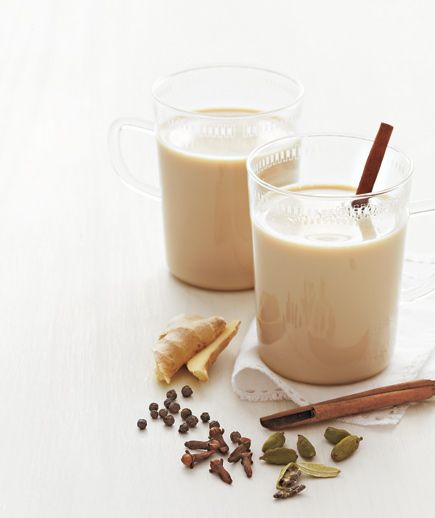 Easy Chai Tea   Get the recipe: http://www.realsimple.com/food-recipes/browse-all-recipes/easy-chai-tea-recipe-00000000029606/index.html