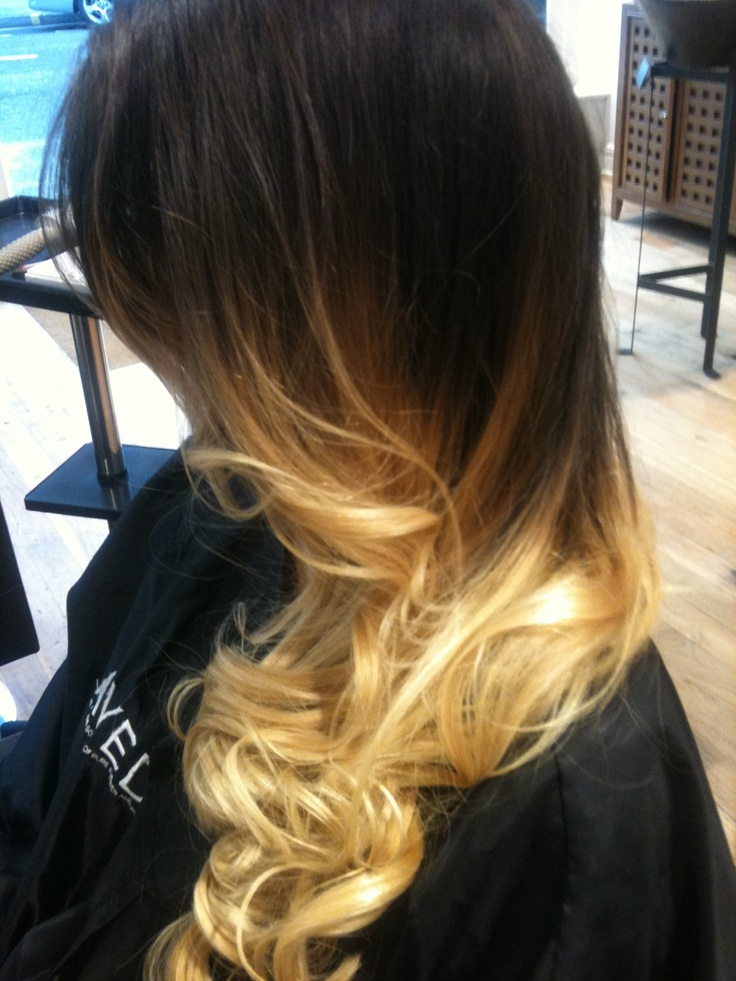 Blow dry in the salon :) London