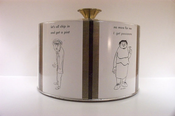 1950s Barware Ice Bucket William Box Cartoons by Fabcraft | Products I ...