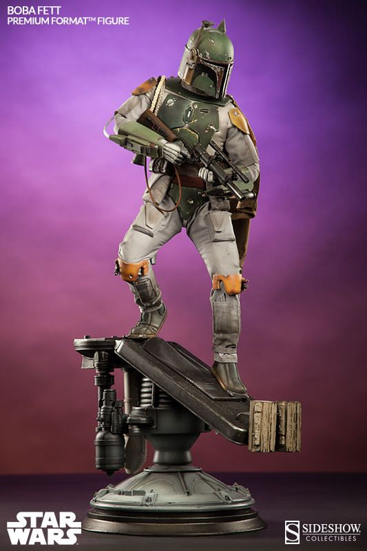 Star Wars Boba Fett Premium Format(TM) Figure by Sideshow Co | Sideshow Collectibles