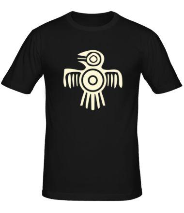 Мужская футболка Египетская птица (свет) от Колорадо