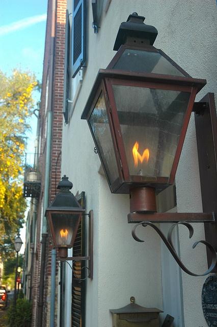 Gaslamps Charleston Sc Via Flickr Sc Pinterest