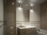 OŚWIETLENIE ŁAZIENKI: Najczęściej łazienka jest pomieszczeniem bez okien. Mimo to nie musi być ciemna. Lekarstwem jest odpowiednie oświetlenie.