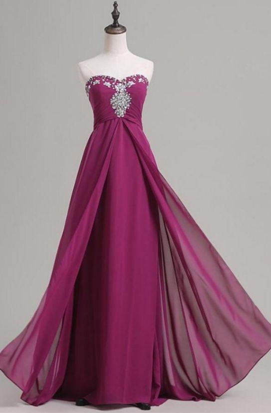 Purple  Dresses